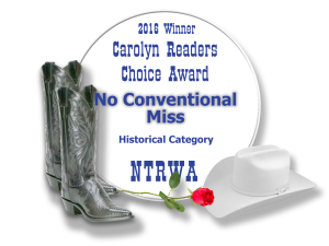 Carolyn Readers Choice Award