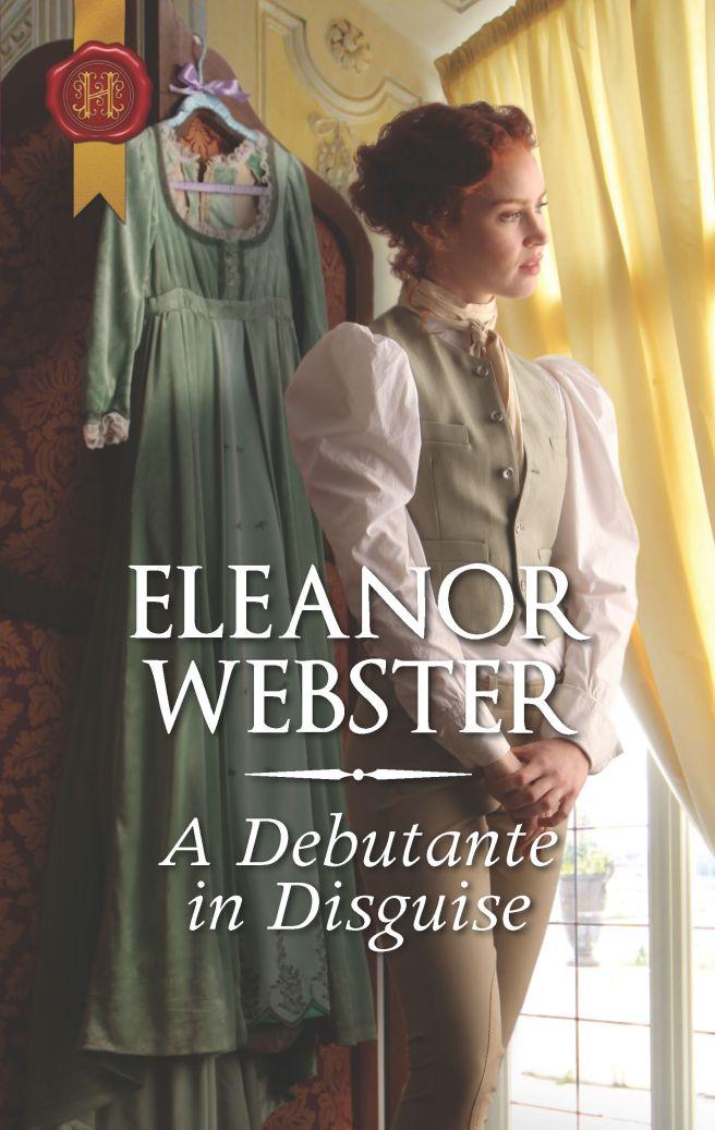 Book cover of Regency period woman woman dressed in a vest and jodhpurs.